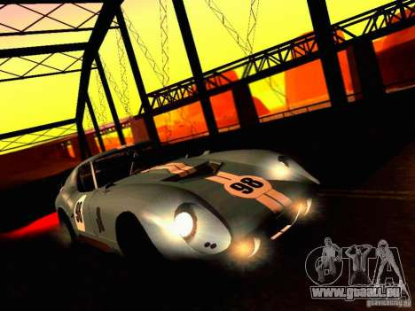 Shelby Cobra Daytona Coupe v 1.0 pour GTA San Andreas vue de côté