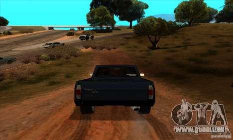 Ford Pampa Ghia 1.8 Turbo für GTA San Andreas Rückansicht
