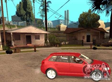 AUDI A3 pour GTA San Andreas vue de droite