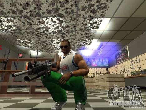 M16 mit einem M203 für GTA San Andreas her Screenshot