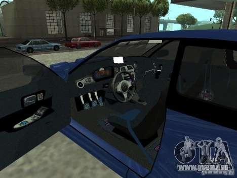 Subaru Impreza 22B STI pour GTA San Andreas sur la vue arrière gauche