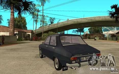 Dacia 1300 v2 pour GTA San Andreas sur la vue arrière gauche