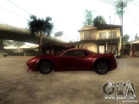 Axis Pegasus für GTA San Andreas linke Ansicht