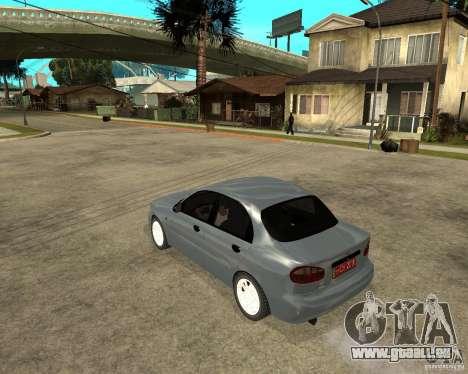 Daewoo Lanos für GTA San Andreas linke Ansicht