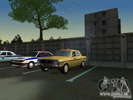 24-10 GAZ Volga Taxi für GTA San Andreas rechten Ansicht