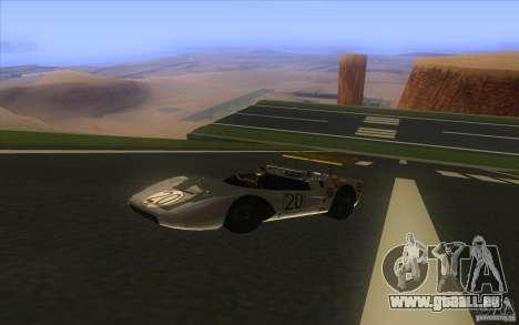 Nissan R381 für GTA San Andreas