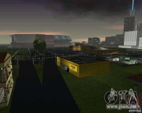 Retour à la future vallée de Hill pour GTA Vice City huitième écran