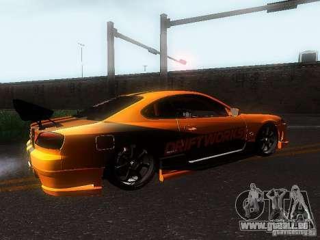 Nissan Silvia S15 ODT pour GTA San Andreas vue arrière
