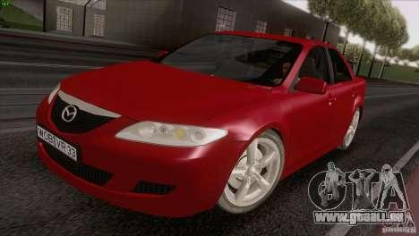Mazda 6 2006 pour GTA San Andreas vue de droite