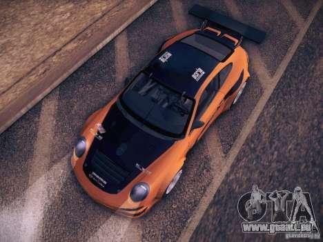 Porsche 997 GT3 RSR für GTA San Andreas Seitenansicht