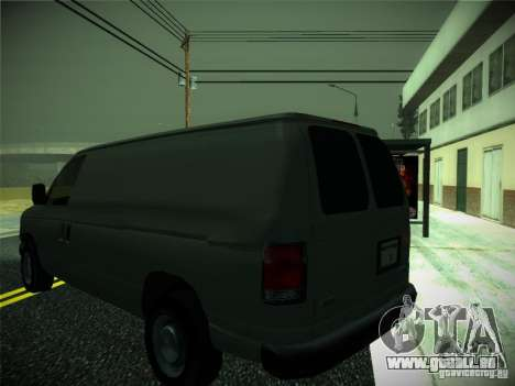 Ford E150 2000 pour GTA San Andreas vue de droite