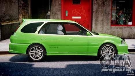 Toyota Sprinter Carib BZ-Touring 1999 [Beta] pour GTA 4 est une vue de dessous