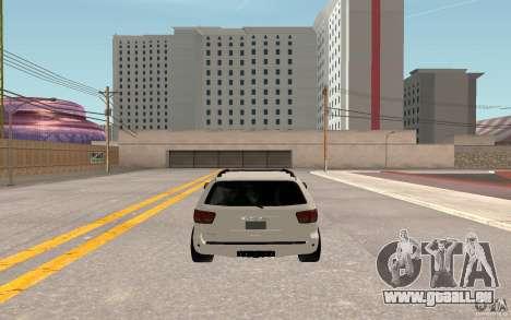 Toyota Sequoia 2011 für GTA San Andreas Rückansicht