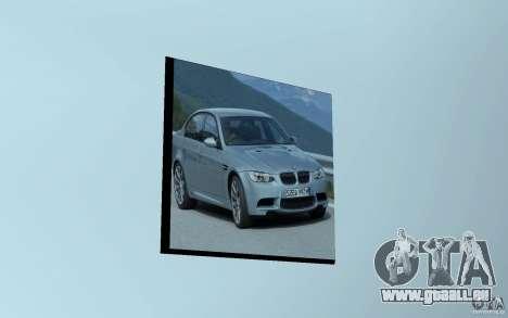 Concessionnaire BMW pour GTA San Andreas troisième écran