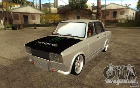 Dérive de Vaz Lada 2107 pour GTA San Andreas