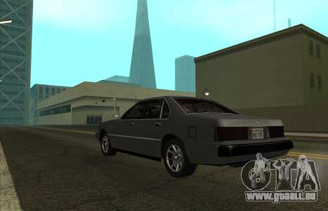New Sentinel für GTA San Andreas linke Ansicht