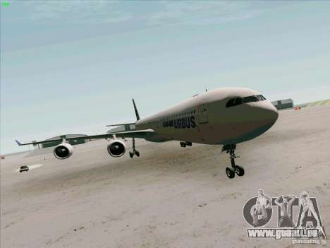Airbus A-340-600 pour GTA San Andreas
