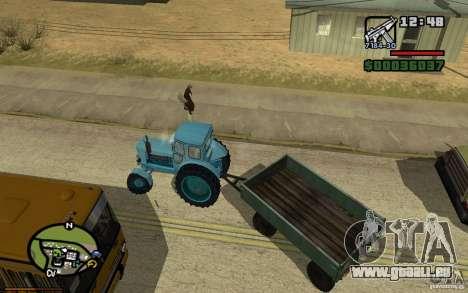 Tableau de bord actif 3.1 pour GTA San Andreas cinquième écran