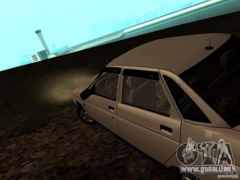 VAZ-21103 für GTA San Andreas zurück linke Ansicht