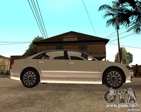 Audi A8 2003 für GTA San Andreas rechten Ansicht