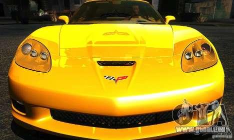 Chevrolet Corvette Grand Sport 2010 pour GTA San Andreas vue de côté
