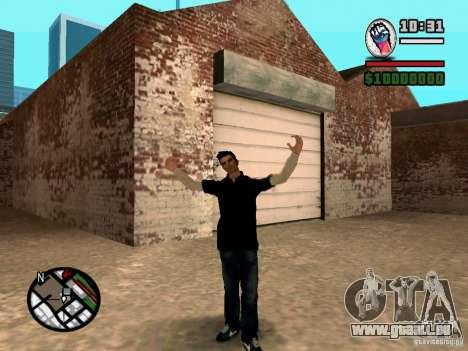 Slaude FXstyle pour GTA San Andreas troisième écran