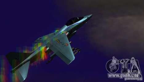 RainbowDash Hydra pour GTA San Andreas sur la vue arrière gauche
