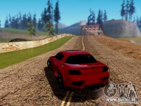 Mazda RX8 Reventon für GTA San Andreas linke Ansicht