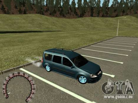 Lada Largus für GTA San Andreas