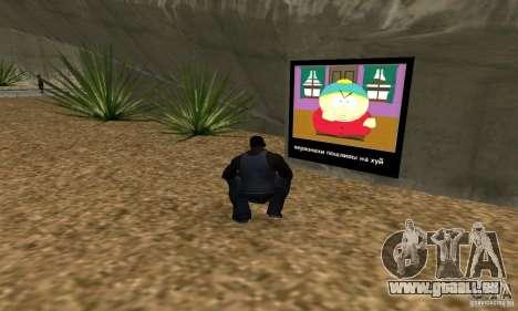 South Park Grafitti Mod pour GTA San Andreas troisième écran