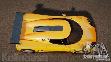 Koenigsegg CCGT Stock für GTA 4 rechte Ansicht