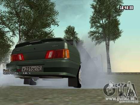 VAZ 2115 Drain pour GTA San Andreas vue de droite