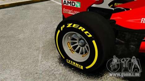 Ferrari F2012 für GTA 4 Rückansicht