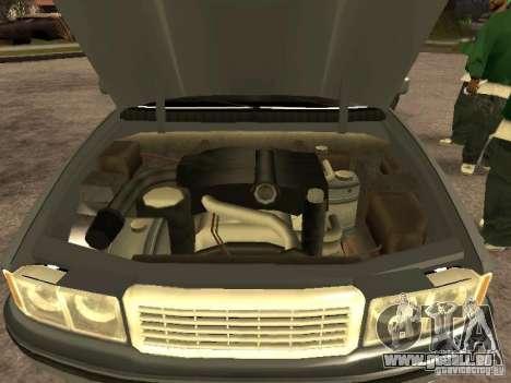 HD Sentinel pour GTA San Andreas vue de droite