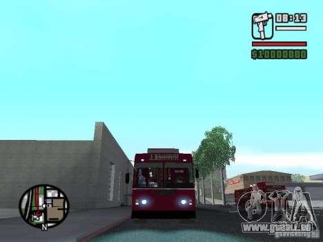 ZIU 682GM 1 pour GTA San Andreas laissé vue