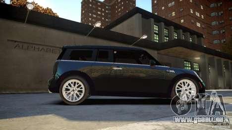Mini Cooper Clubman für GTA 4 rechte Ansicht