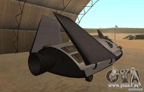 Module de FARSCAPE pour GTA San Andreas laissé vue