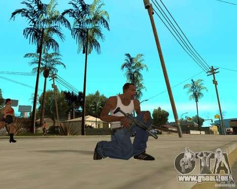 Armes de STALKERa pour GTA San Andreas quatrième écran