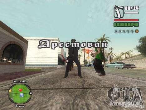 Piss Piss mod pour GTA San Andreas troisième écran