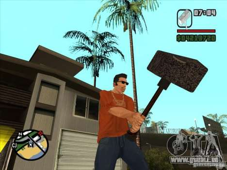 Hammer aus der WarCraft III für GTA San Andreas