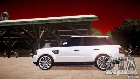 Range Rover Sport Supercharged v1.0 2010 für GTA 4 linke Ansicht
