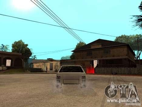 VAZ 2108 Devil V.2 für GTA San Andreas zurück linke Ansicht