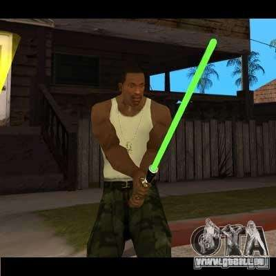 Sabre laser de STAR WARS pour GTA San Andreas