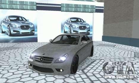 Mercedes-Benz CLS 63 AMG für GTA San Andreas Innenansicht
