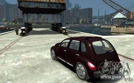 Chrysler PT Cruiser pour GTA 4 Vue arrière de la gauche