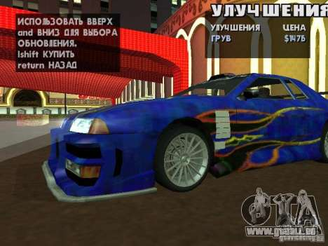 SA HQ Wheels für GTA San Andreas her Screenshot