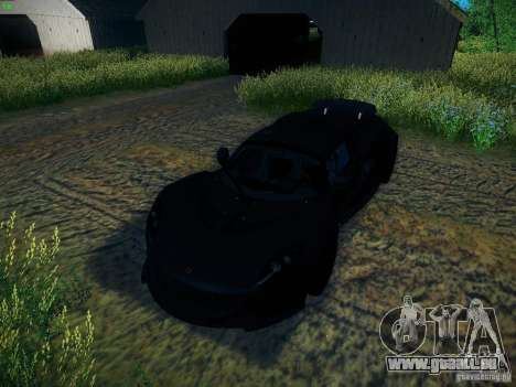Hennessey Venom GT Spyder für GTA San Andreas Seitenansicht