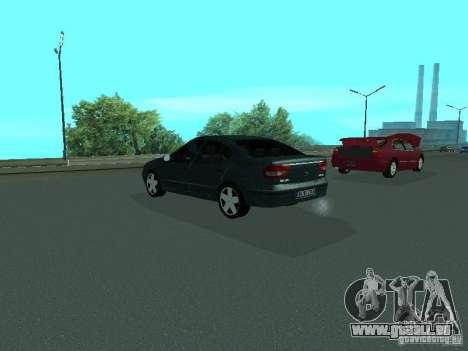 Renault Megane I pour GTA San Andreas vue arrière