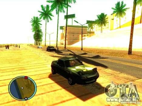 Mazda Miata 1994 für GTA San Andreas