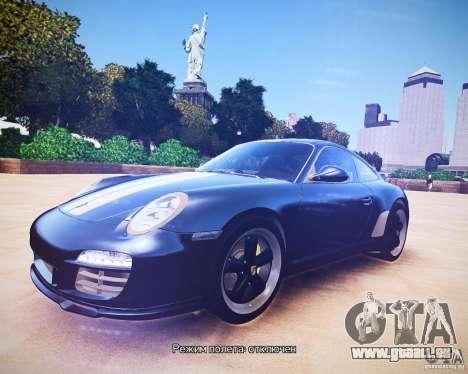 Porsche 911 Sport Classic 2011 v2.0 für GTA 4 linke Ansicht